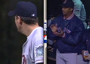 Pedro clapping