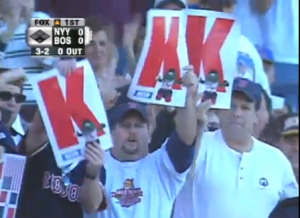 Fans K signs