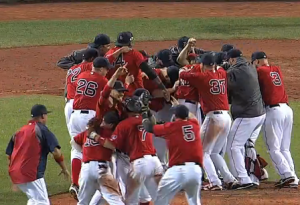 Red Sox AL East champs
