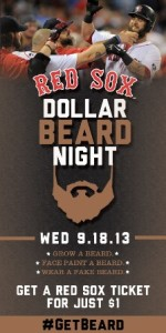 Sox Dollar Beard Night