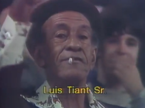 Tiant's dad