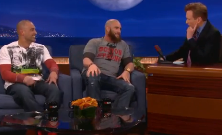 Gomes and Victorino on Conan