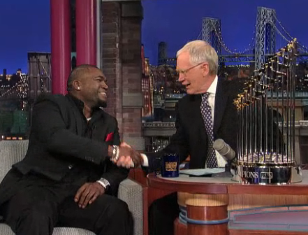 Ortiz on David Letterman2