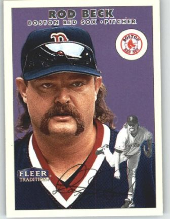 Rod Beck fleer card