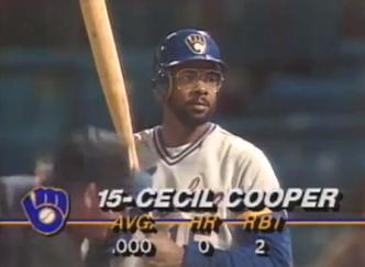 Cecil Cooper specs