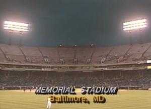 Memorial Stadium empty