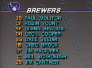 Milwaukee lineup