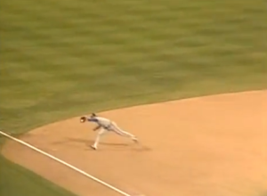 Molitor catch in 5th