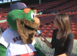 During a sitdown with Jenny Dell last October, Wally seemed to become distracted right from the get-go.