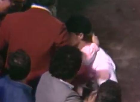 Clemens hugs