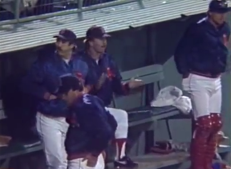 Sox bullpen cheering