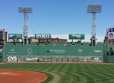 green monster left field wall