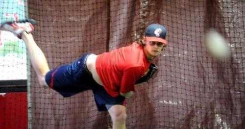 Buchholz at Baseball Academy
