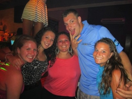 Gronk gross pose