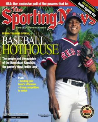 Pedro Sporting News 2001