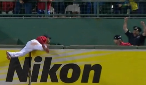 Steve Horgan redux Mookie Betts catch